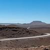 The flat-topped Etendeka mountains