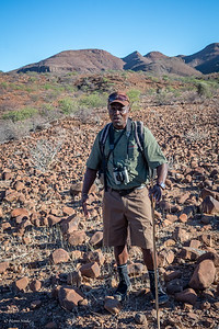 Our guide during the walk.