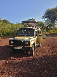 Waiting for check-in at Lake Manyara