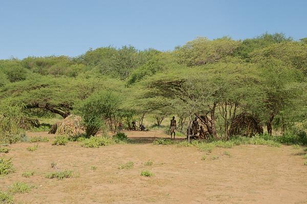 Hadzabe (Bush men) village