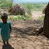 Hadzabe beautiful little girl