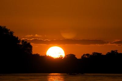 Sunset Rifiji River