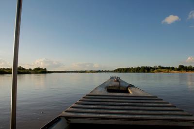 Selous Boat Safari at Sunset