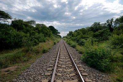 Railroad from Dar es Salaam to Mbeya