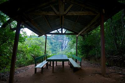 Udzungwa Mountains, hike to Sanje Falls