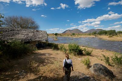 Ruaha River Lodge, Our Chalet