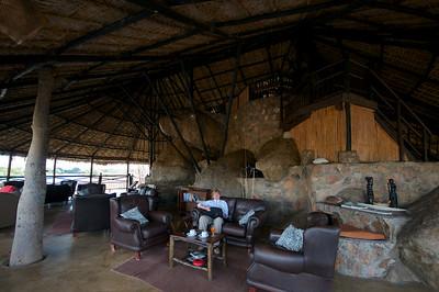 Ruaha River Lodge, Lounge Area