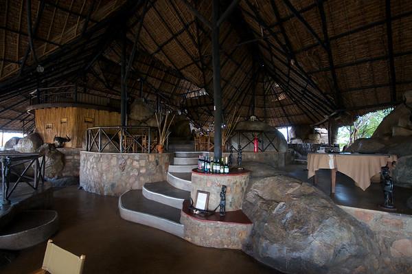 Ruaha River Lodge, Dining Area