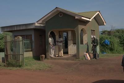 Gate to Ngorongoro Crater