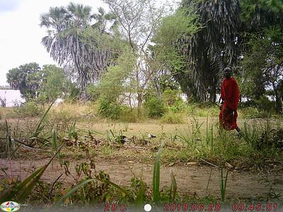 Camera-trap: Security at Lake Manze Camp