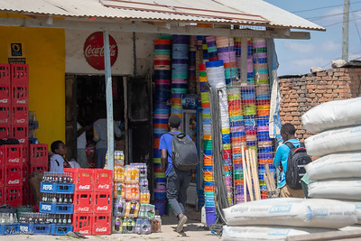 Almost every item in Africa is colorful