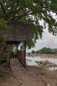 Our tent (River Banda 18) near the Great Ruaha River.
