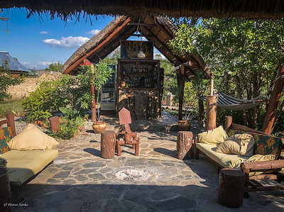 Great place to chill after a game drive