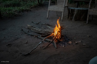 We really appreciate it if they take the trouble to light the campfire!