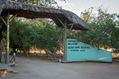 Yes, entering Selous!