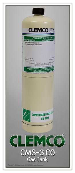 CMS-3 CO gas tank