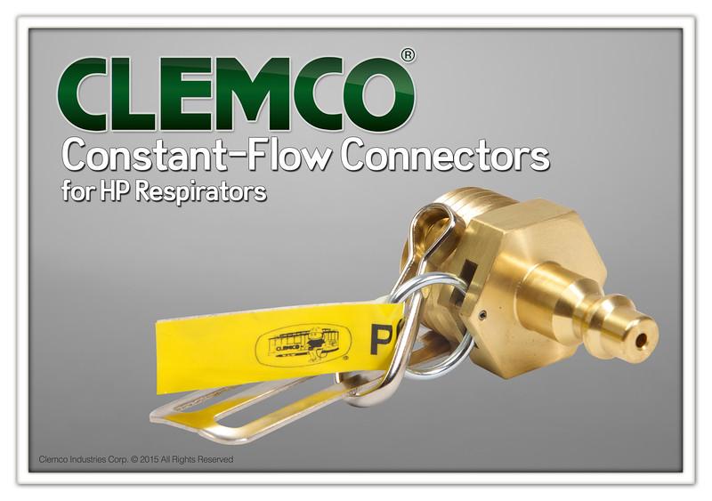 Constant-Flow Connector for HP respirators