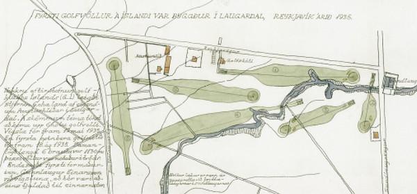 Golfvöllur í Austurhlíð, Laugardal