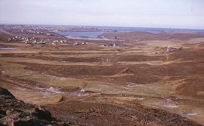 1964. Fjórða brautin og áttunda flötin. Ljósmynd: Viðar Þorsteinsson.