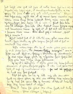 Walt Arneson, golfkennari  svarar umleitan Golfklúbbs Íslands 1934 (3/3)