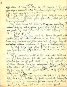 Walt Arneson, golfkennari  svarar umleitan Golfklúbbs Íslands 1934 (2/3)