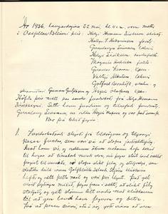 Stofnun Ræktunarfélags GÍ 1936 1/3