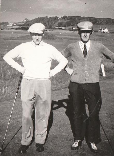 Tv. Þorvaldur Ásgeirsson golfkennari og fyrrverandi Íslandsmeistari í golfi.