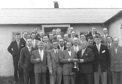 Bæjakeppni 1957