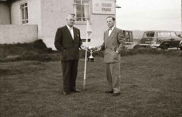 Bæjarkeppni GR/GV 1957