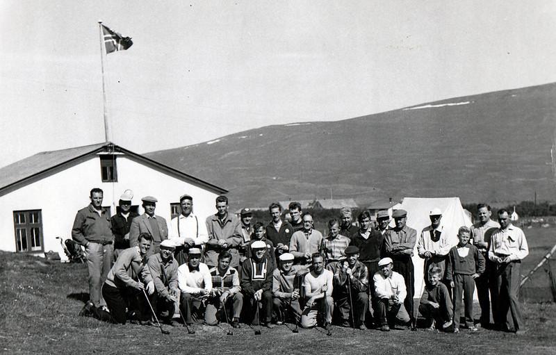 Íslandsmót á Akureyri 1958