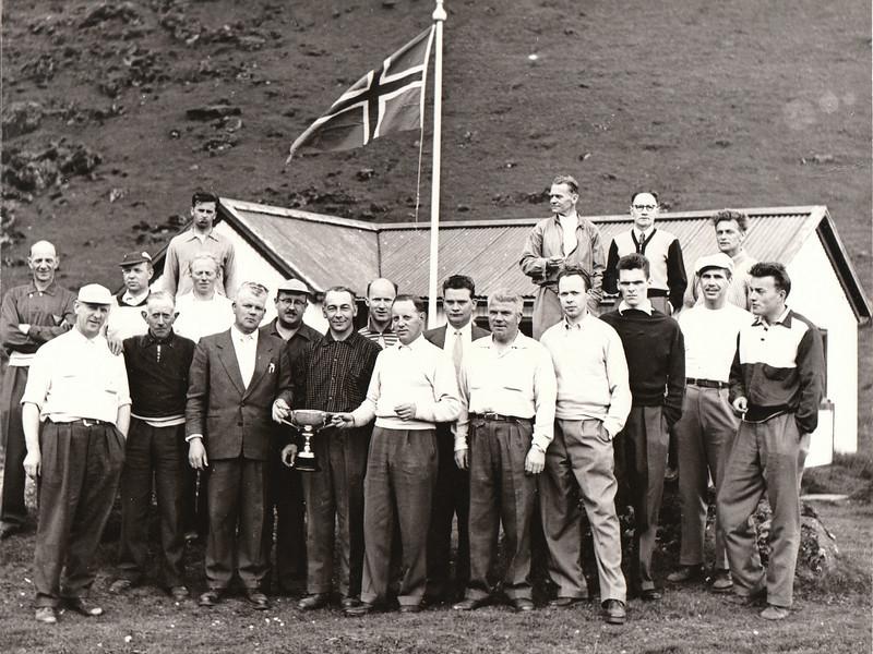 Bæjarkeppni í Eyjum 1958