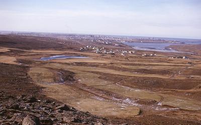 1964. Níunda- og fjórða brautin. Ljósmynd: Viðar Þorsteinsson.