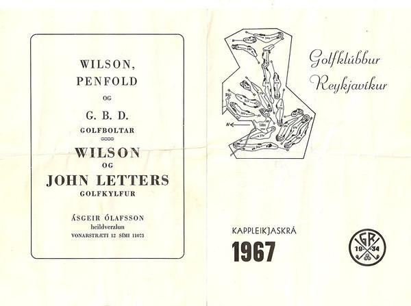 Kappleikjaskrá GR 1967
