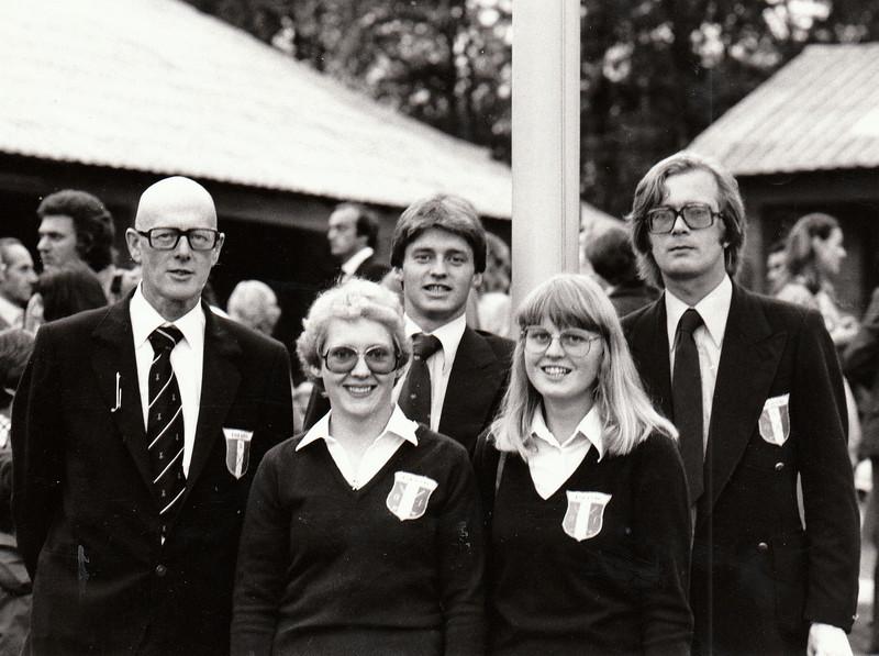 Ólafur Tómasson, Kristín Þorvaldsdóttir GK, Hannes Eyvindsson GR, Jóhanna Ingólfsdóttir GR, Björgvin Þorsteinsson GA.