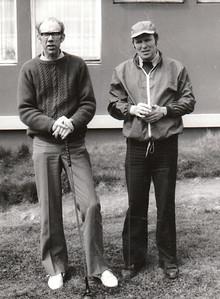 Jóhann Benediktsson GS og Sigurður Albertsson GS.