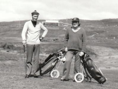 Haukur V. Guðmundsson og Sveinn Gíslason.
