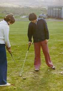 Golfkennsla.