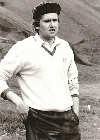 Sigurður Pétursson, 1981. Úr safni Golfklúbbs Reykjavíkur.