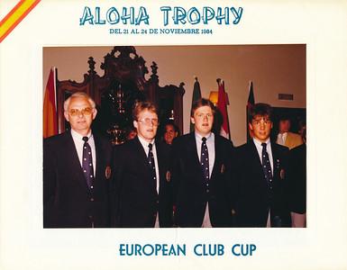 Sveit GR sem tók þátt í Evrópukeppni klúbba árið 1984. Frá vinstri: Björgúlfur Lúðvíksson, Ragnar Ólafsson, Sigurður Pétursson og Ívar Hauksson.