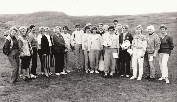 Vouge kvennamótið í Grafarholti 1985