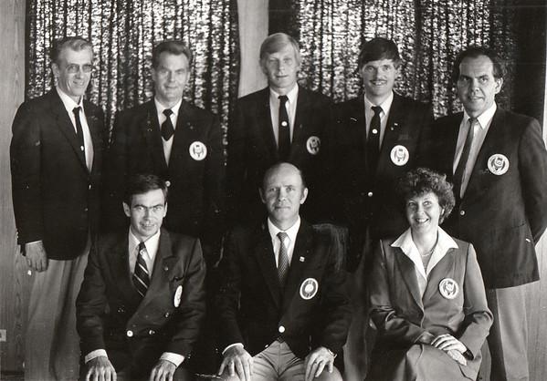 Stjórn GSÍ 1985