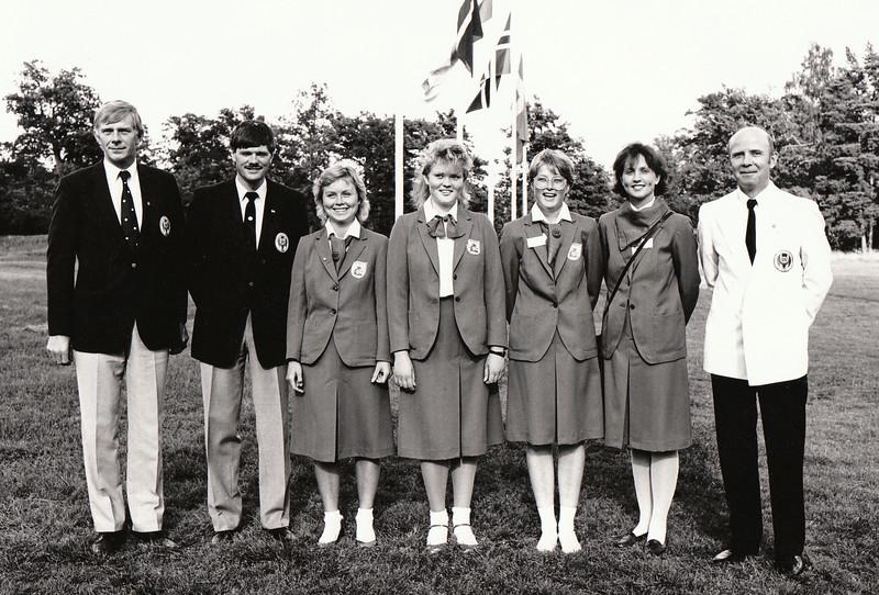 Landslið kvenna 1985