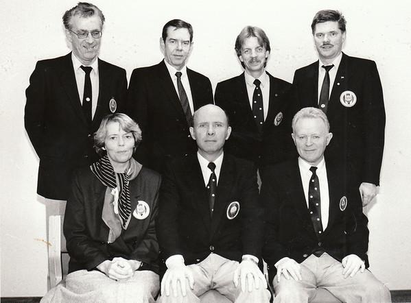 Stjórn GSÍ 1987.
