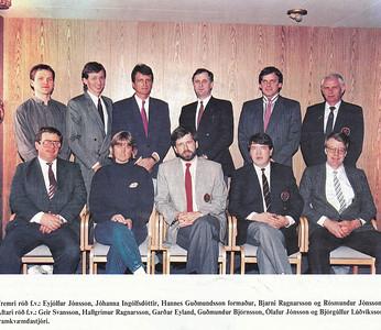 Stjórn GR 1988