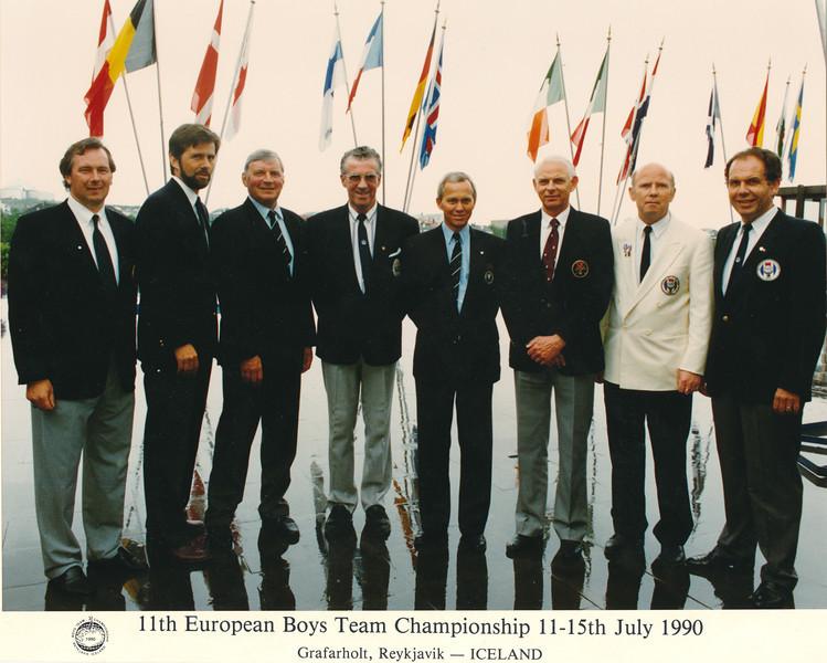 EM drengja í Grafarholti 1990