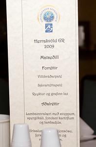 Karlakvöld GR 2009