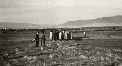 Slegið af 2. teig árið 1938