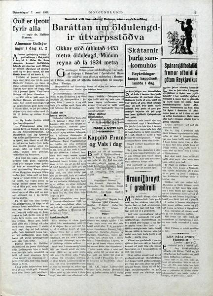 Morgunblaðið 7. maí 1939, 3 - Timarit.is