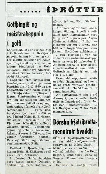 Morgunblaðið 8. júlí 1950 - Timarit.is