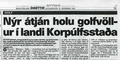 Morgunblaðið 12. desember 1992 - Timarit.is